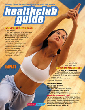 IMPACT Magazine Health Club Feature