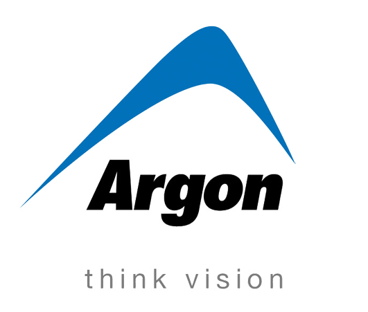 Argon logo and strap line