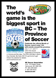 BC Soccer Association, MC2 Communications