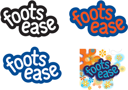 Foots Ease logos