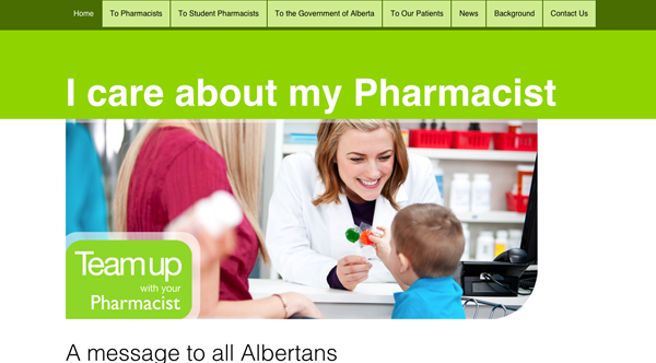 icareaboutmypharmacist.org screenshot