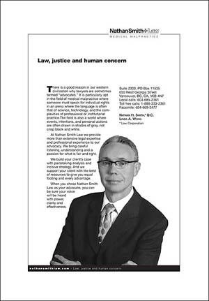 Nathan Smith Law magazine